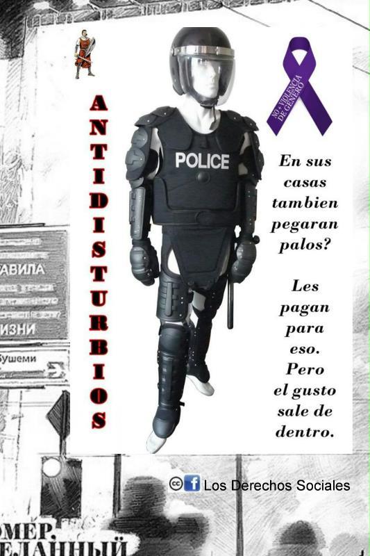 polícia pau repressão indignados espanha
