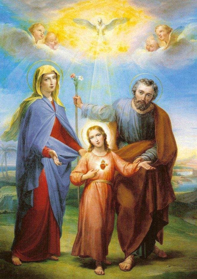 sagrada familia estampa