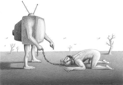 televisão tv teleaditos indignados