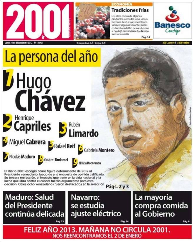 Propaganda indireta com o nome de Capriles que deve enfrentar Maduro numa possílvel nova eleição presidencial