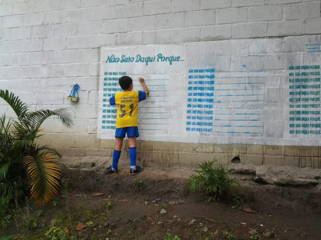Aluno assino baixo-assinado contra os tratores de Sérgio Cabral