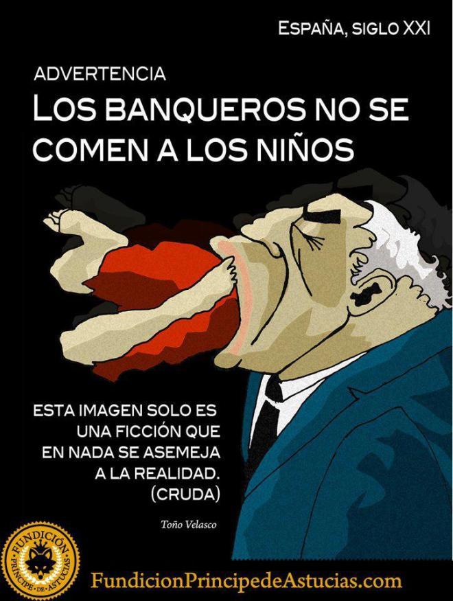 banco banqueiros indignados Espanha