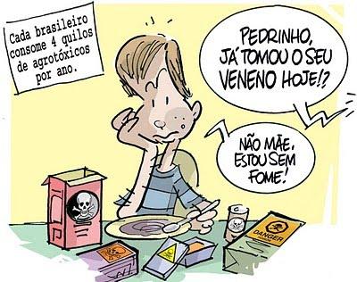 brasileiro come veneno
