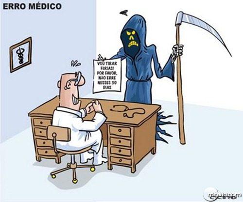 indignados erro médico
