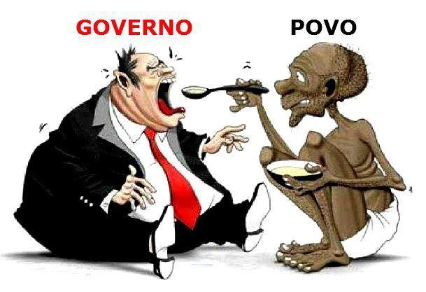 inndignados governo povo impostos indiretos
