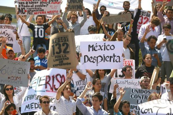 México indignados povo