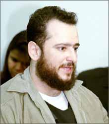 Reinaldo Pacífico, em 2000, quando Cristiane Ferreira foi assassinada