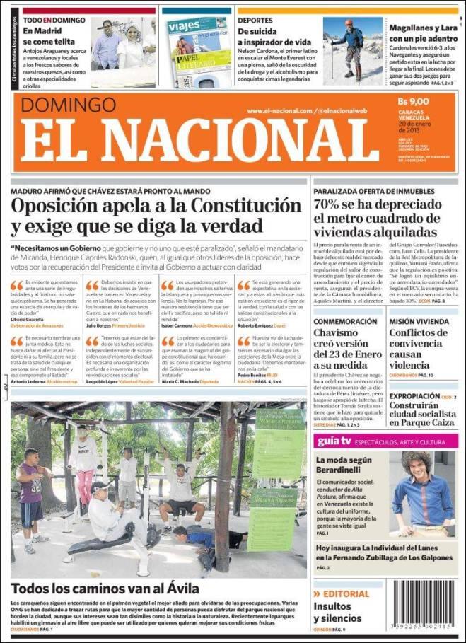 ve_nacional. Chávez