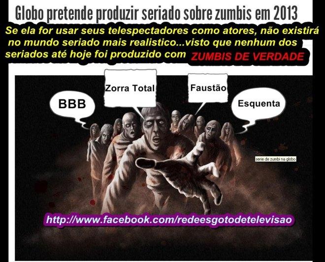 zumbi, Golbo, tv novela indignados