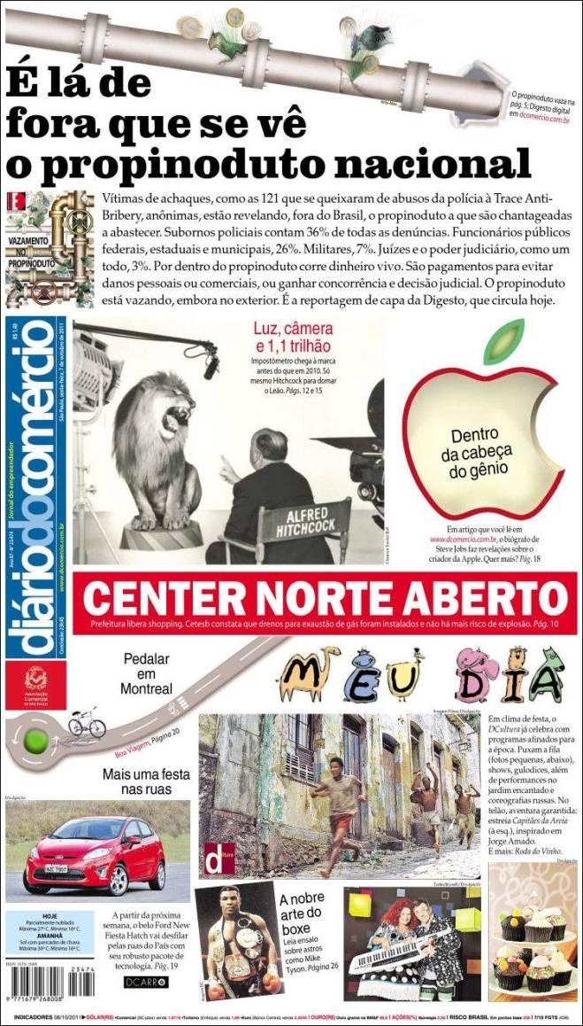 autoridades brasileiras vicinas em propina