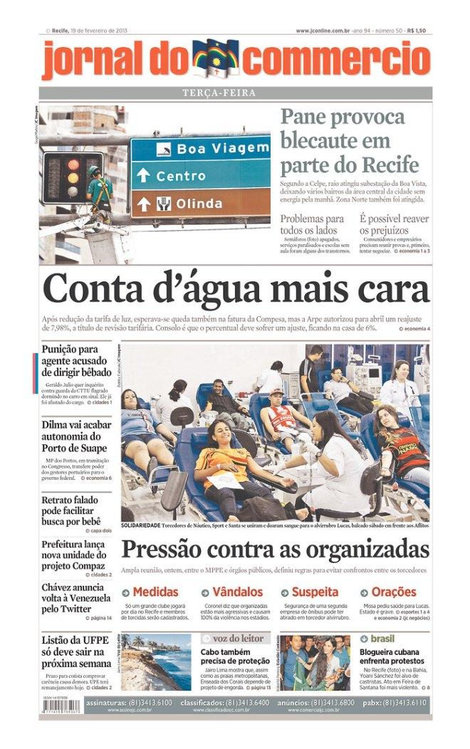 GOVÊRNO EDUCARDO CAMPOS: PERNAMBUCO PRIVATIZOU A ÁGUA QUE FICOU MAIS CARA