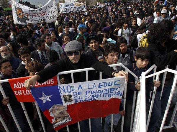 Chile Pinochet ensino educação