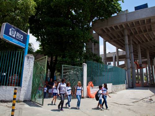 Escola Municipal Friedenreich, Maracanã, Rio de Janeiro