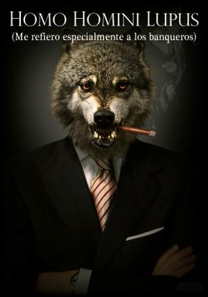Um banqueiro, por Josetxo Ezcurra