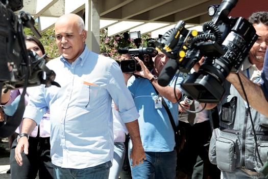 Mauricio Borges Sampaio preso e solto. Preso e solto. Preso e solto.  Foto: Demian Duarte