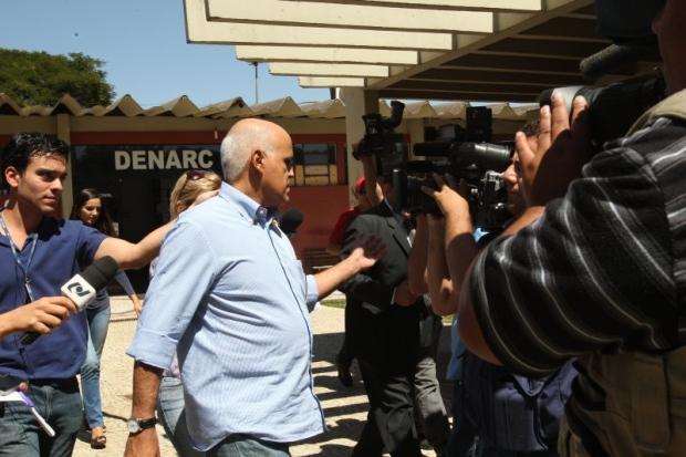 Valério Luiz suspeitava do  empresário e dirigente esportivo Maurício Sampaio