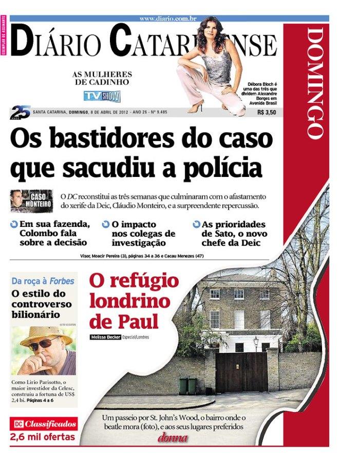 polícia caso monteiro
