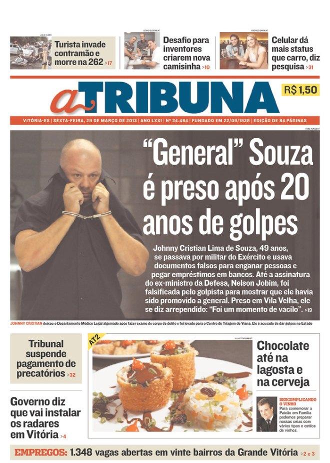 BRA^ES_AT O governo paralelo do Espíirito Santo tem até general. Nunca pegam o %22governador%22
