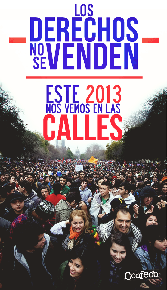 Chile nas calles