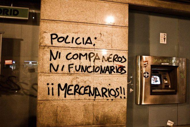 Pichação na Espanha