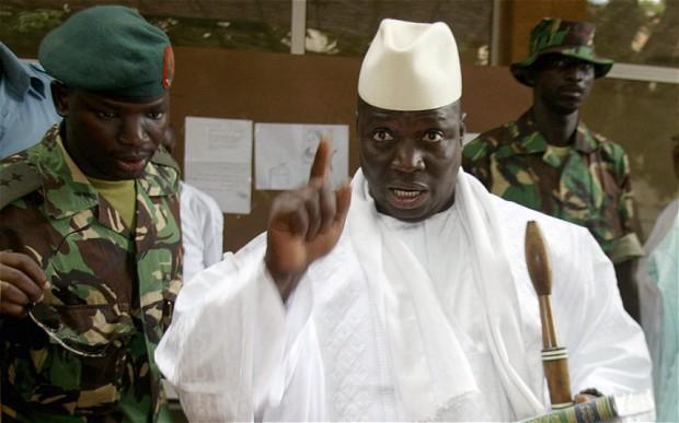 Presidente Yahya Jammeh de Gâmbia
