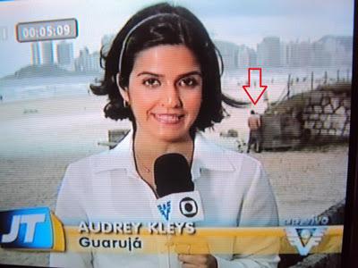 Uma mijadinha da Globo