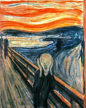 O Grito, por Edvard Munch