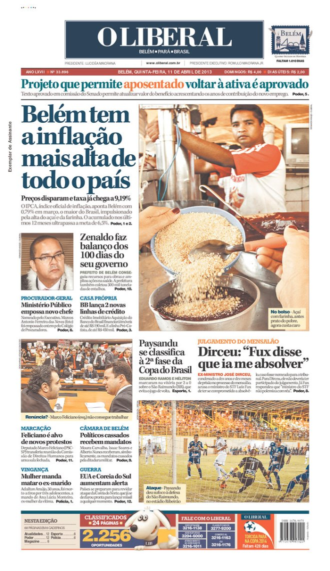 BRA^PA_OL inflação carestia custo vida