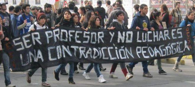 Greve de professores no Chile