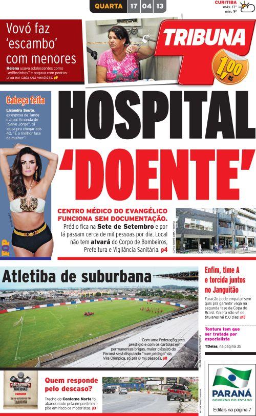 hospital doente