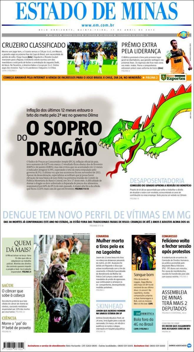 jornal_estado_minas. o sopro quente do dragão