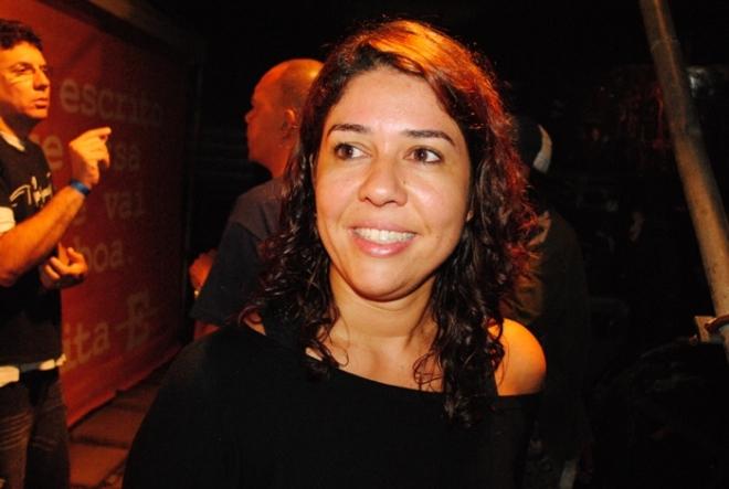 Malu Verçosa, famosa jornalista da Bahia