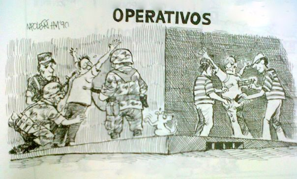 Operativos extorsão