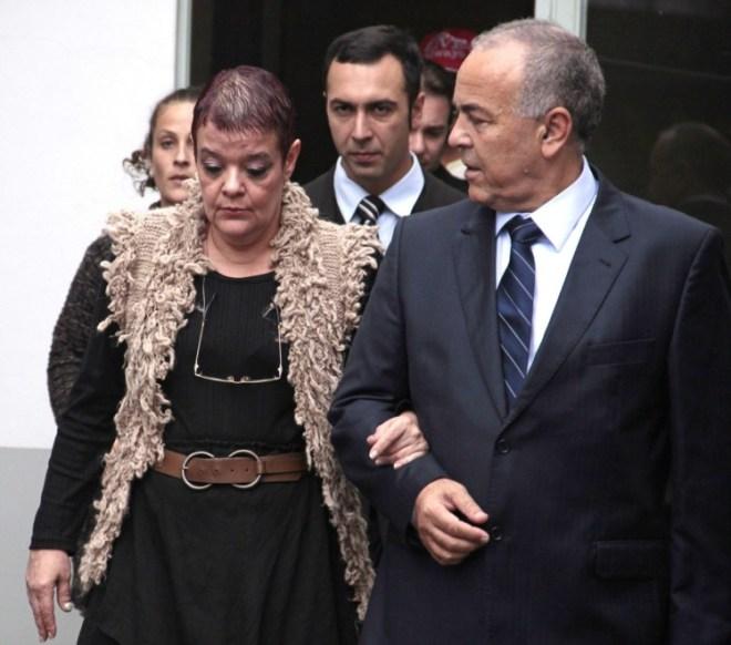 Virginia Soares de Souza, no dia em que foi libertada AFP