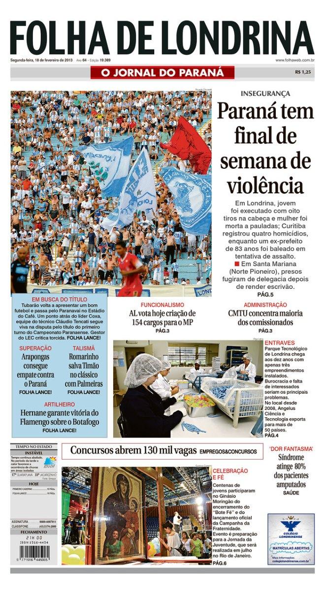 BRA_FDL pcc semana paraná violência