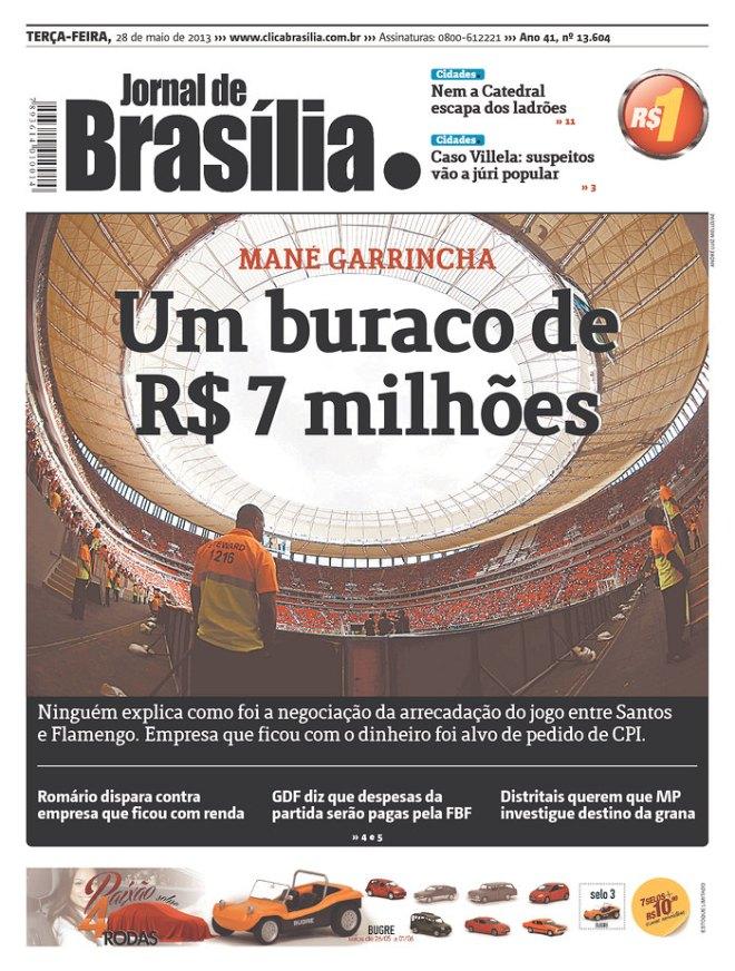 BRA_JOBR Limparam o estádio