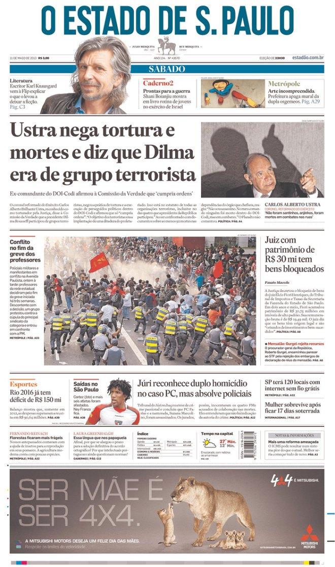 BRA_OE Ustra dilma terrorista