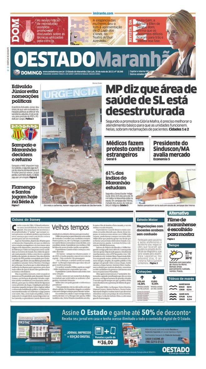 BRA^MA_OEDM cachorrada nos hospitais do Maranhão