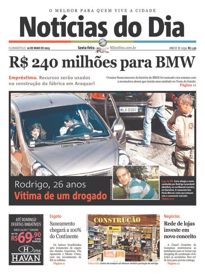 BRA^SC_NDF Alemanha em crise pede ajuda do Brasil a mãe
