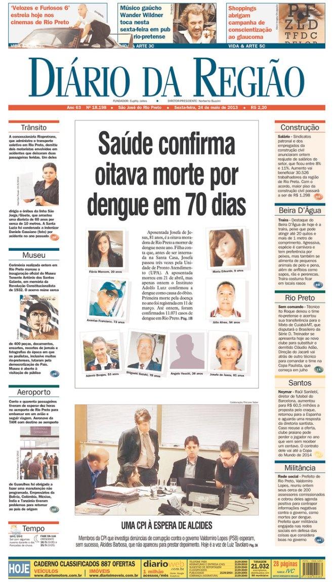 BRA^SP_DDR dengue São José do Rio Preto