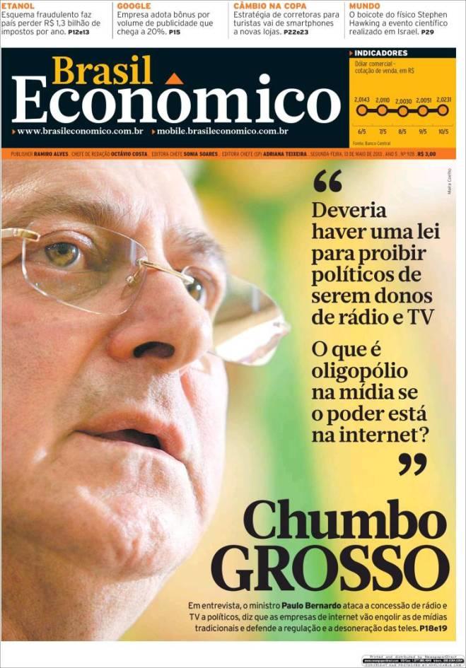 economico. oligopólio mídia imprensa internet