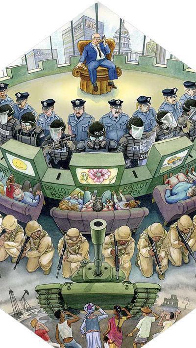 indignados sistema