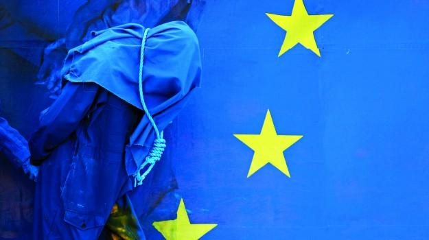 o europeu enforcado