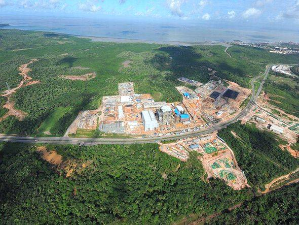 Termelétricas sendo construidas no Maranhão