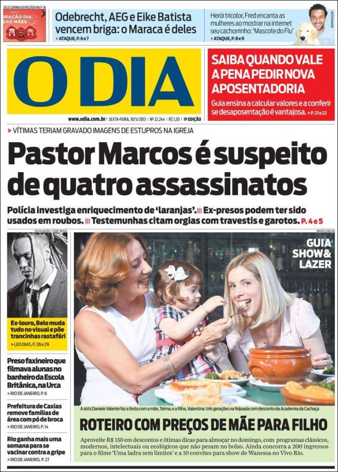 o_dia. pastor assassino