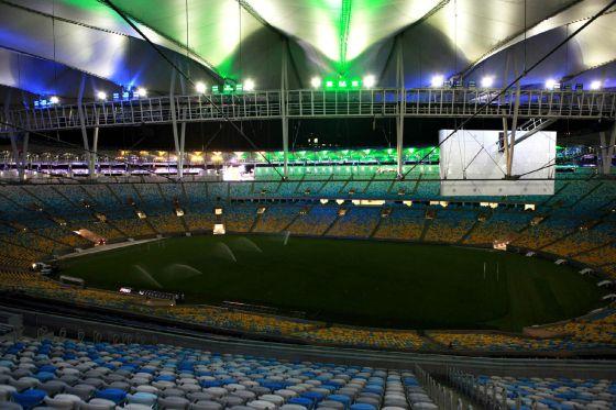 Vista del estadio de Maracaná : ÉRICA RAMALHO (EFE)