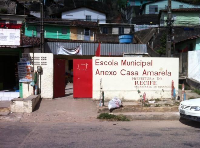 No Córrego da Areia, MPPE já tentou fechar escola com apenas três salas de aula