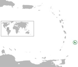 Localização de Barbados