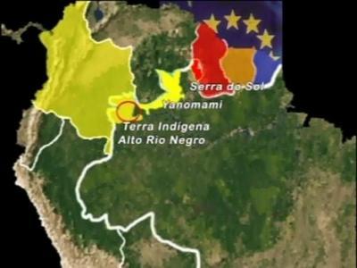 Regiões de difíceis acesso na fronteira facilitam as ações de grupos criminosos