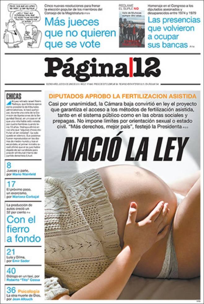 ar_pagina12 argentina fertilização assistida